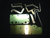 滤波器/放大器上各种铜片