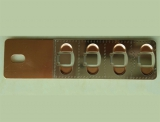铜镍复合极片1